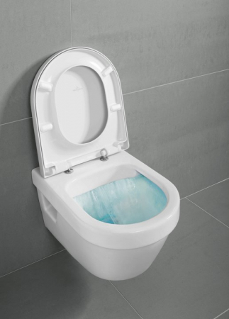 Set vas WC suspendat cu DIRECT FLUSH si capac soft close Architectura VILLEROY & BOCH [3]