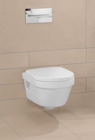 Set vas WC suspendat cu DIRECT FLUSH si capac soft close Architectura VILLEROY & BOCH [2]