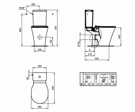 Rezervor Conect Air Arc 3/4,5 L E073901 [1]