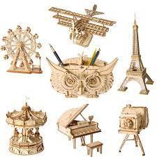 De ce sa cumperi un puzzle 3D din lemn?