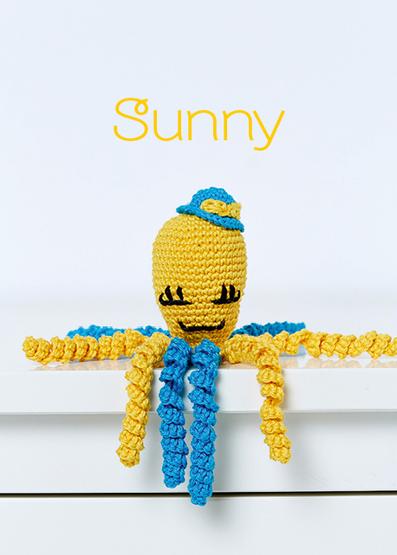 Caracatita Amigurumi, Sunny [0]