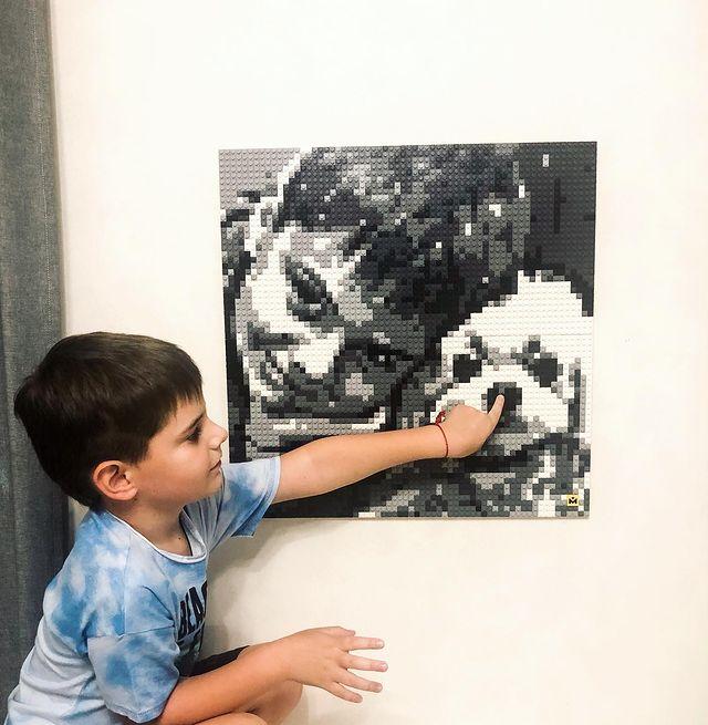 Foto DIY MOZABRICK, Set L, 76x76 cm [3]