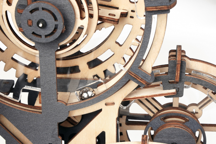 Puzzle 3D Marble Night City, Lemn, 294 piese [5]
