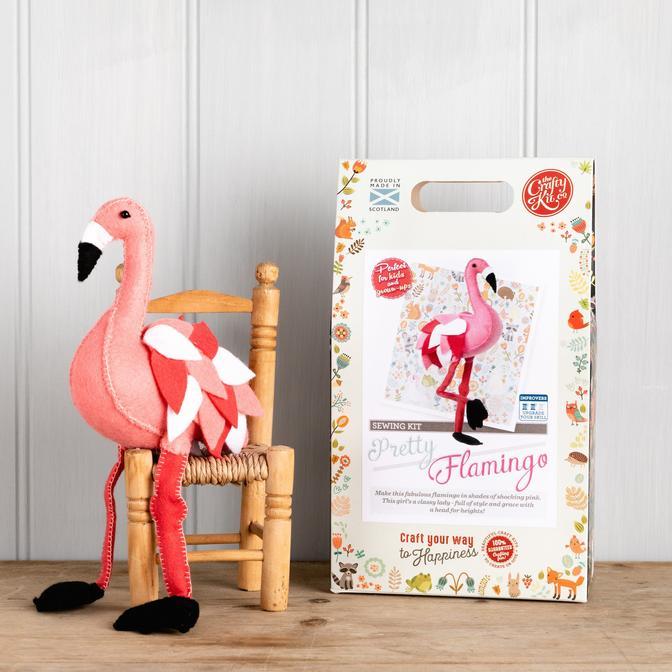 Set creatie jucarii cusute, Flamingo [1]