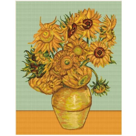 Set goblen, Floarea soarelui [0]