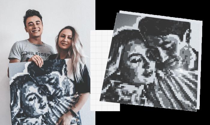 Foto DIY MOZABRICK, Set M, 51x76 cm [1]