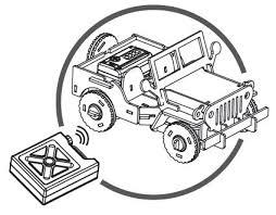 Puzzle mecanic 3D din lemn, cu telecomanda, Jeep, 94 [3]