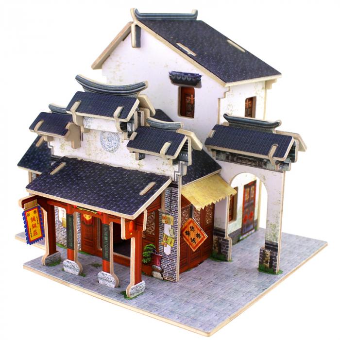 Puzzle 3D Casuta asiatica 0