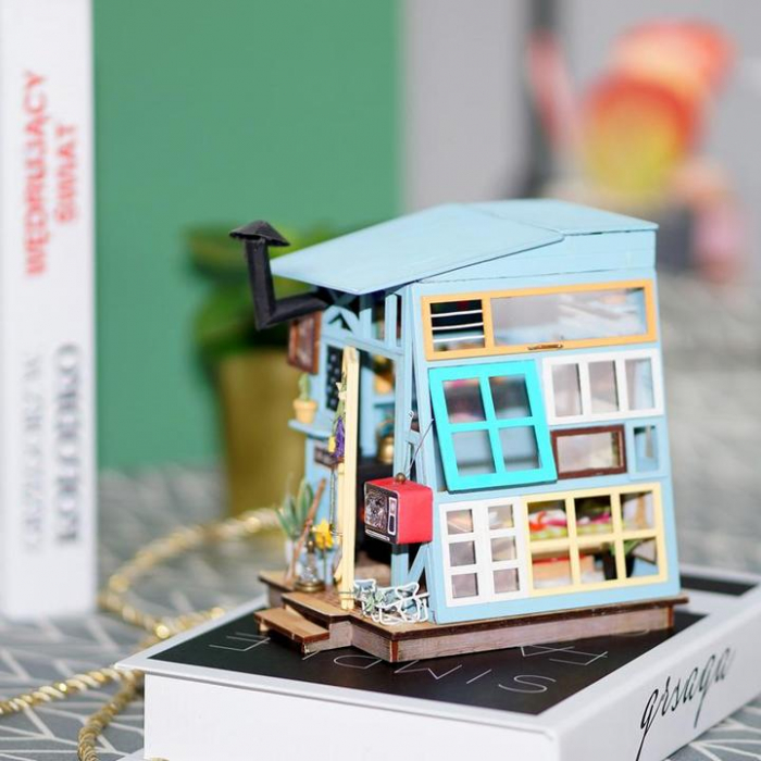 Puzzle 3D, Casuta DIY, Coliba de lemn [1]