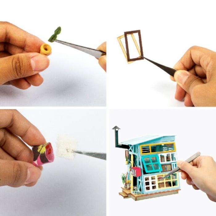Puzzle 3D, Casuta DIY, Coliba de lemn [6]
