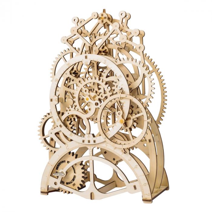 Puzzle 3D Ceas cu pendul, Lemn, 170 piese 0