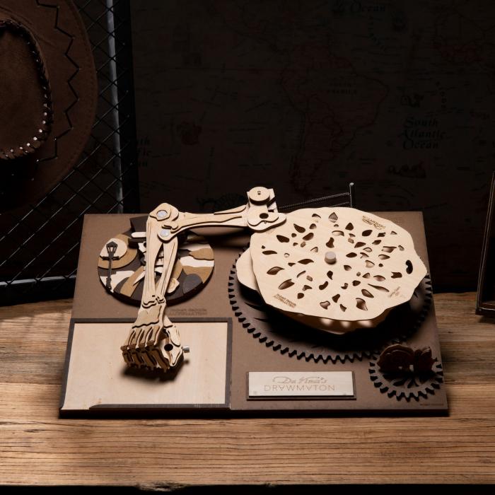 Puzzle 3D Mecanic Drawmaton, The Gambler 1