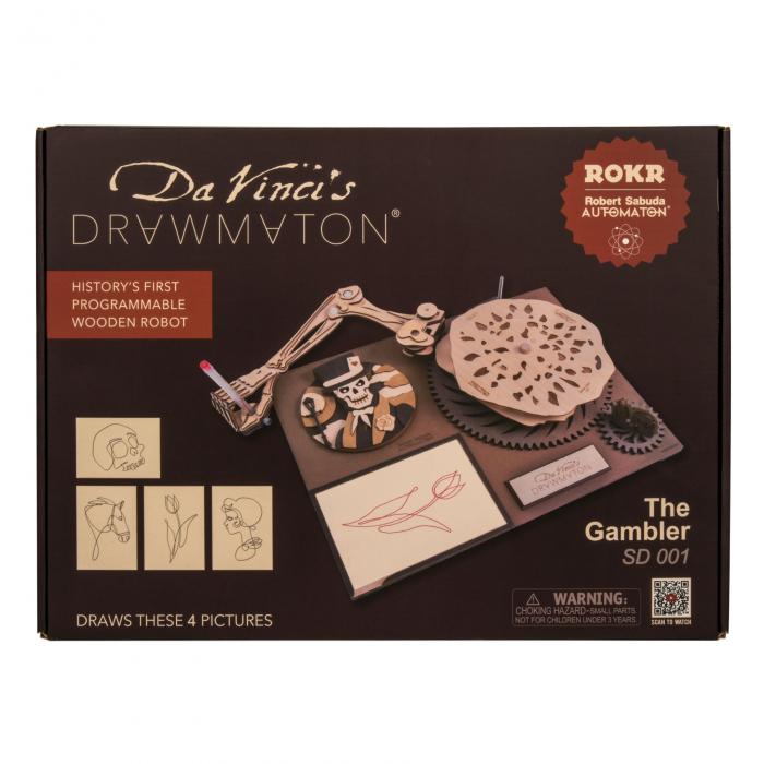 Puzzle 3D Mecanic Drawmaton, The Gambler 4