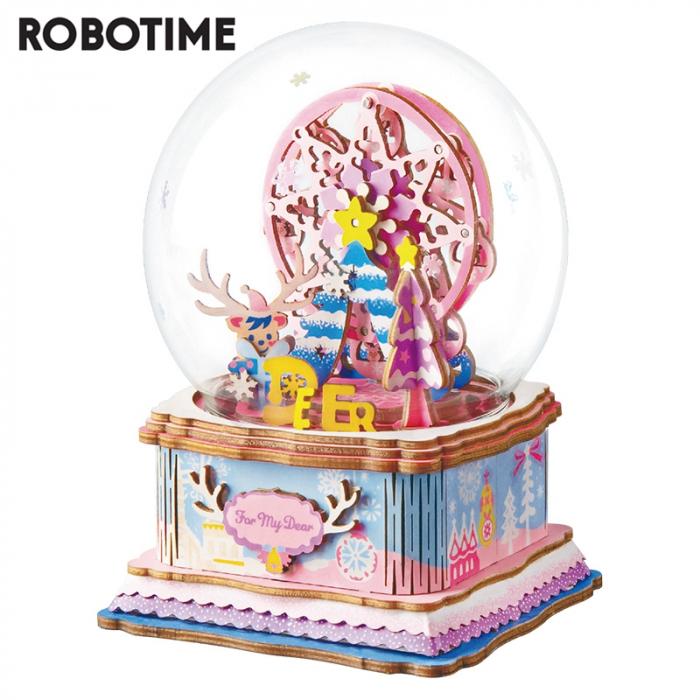 Puzzle 3D Cutie Muzicala, Iubitei mele, Lemn, 93 de piese 0