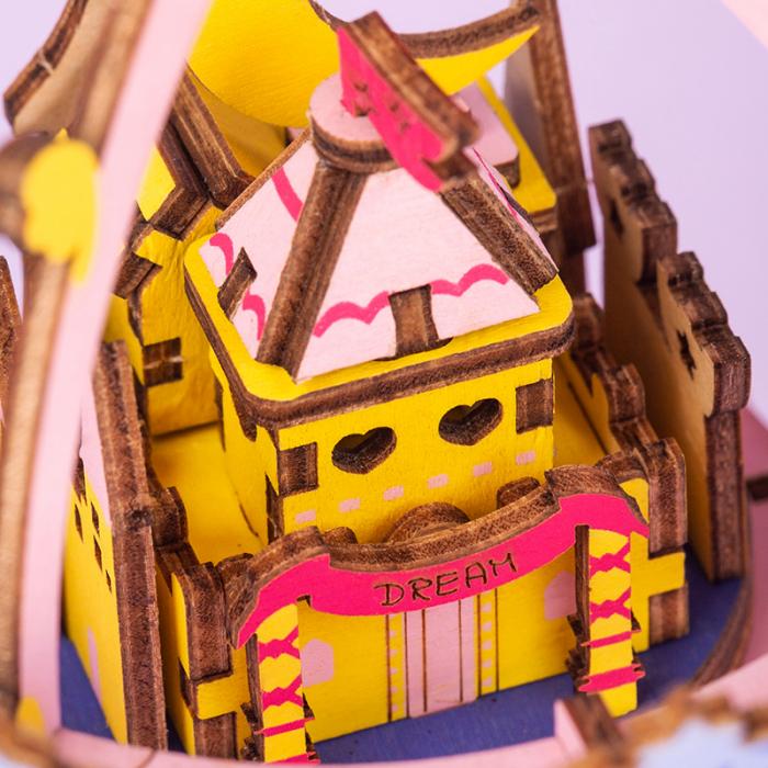 Puzzle 3D Cutie Muzicala, Oras zburator 3