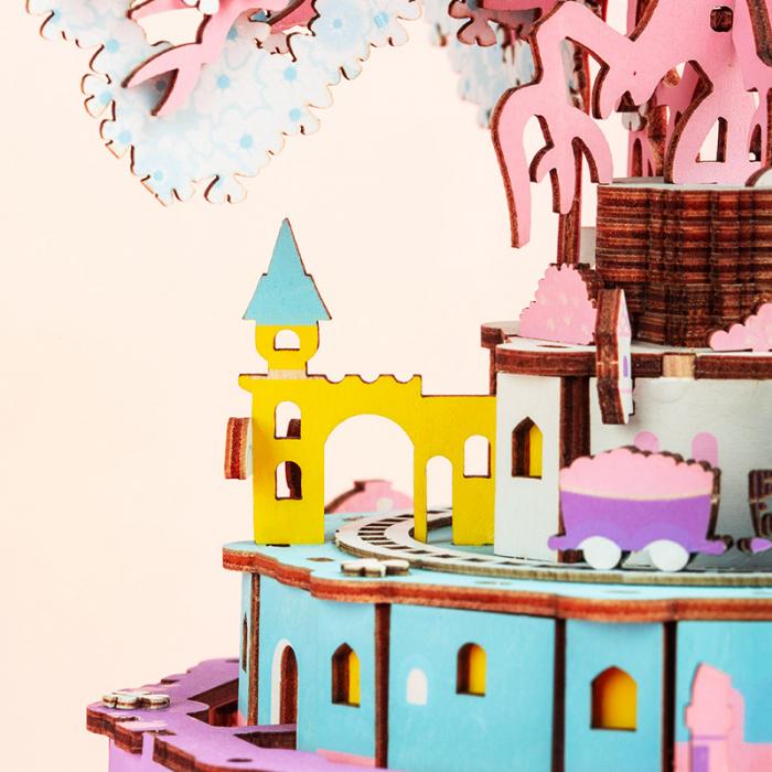 Puzzle 3D Cutie Muzicala, Oras zburator 4