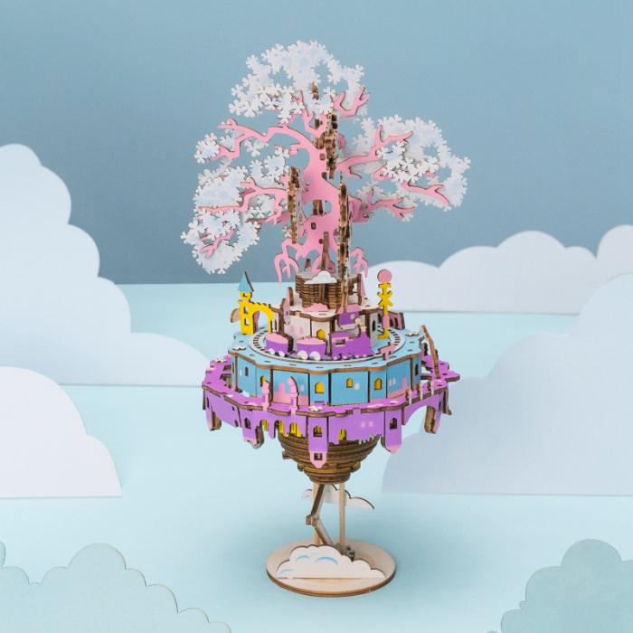 Puzzle 3D Cutie Muzicala, Oras zburator 1