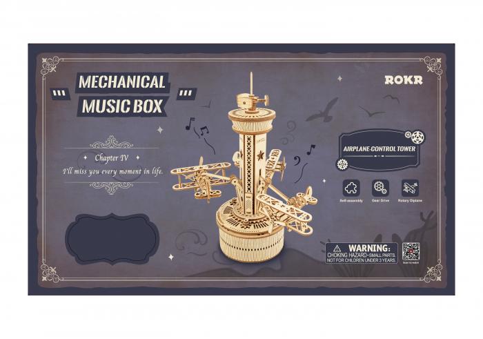 Puzzle 3D, cutiuta muzicala, Turn de control aerian [1]