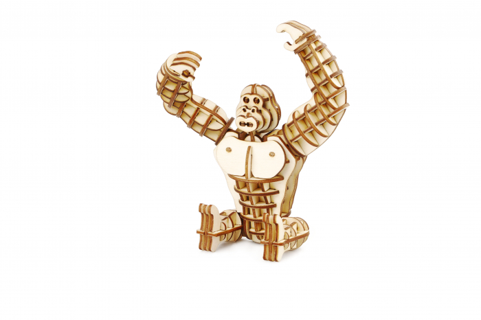Puzzle 3D Gorila [0]