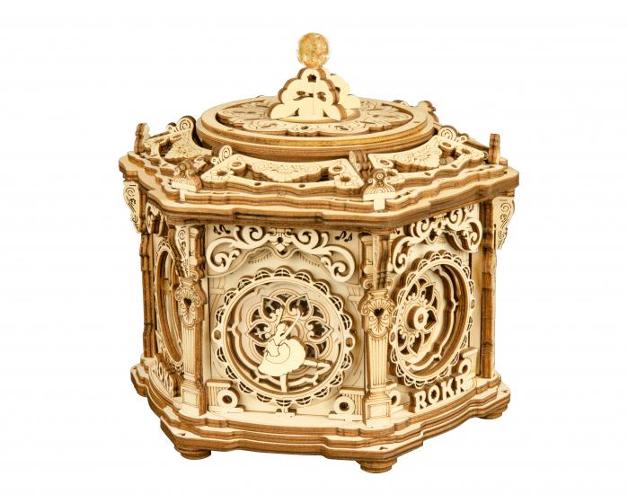Puzzle 3D, lemn, cutiuta muzicala, Gradina secreta [0]