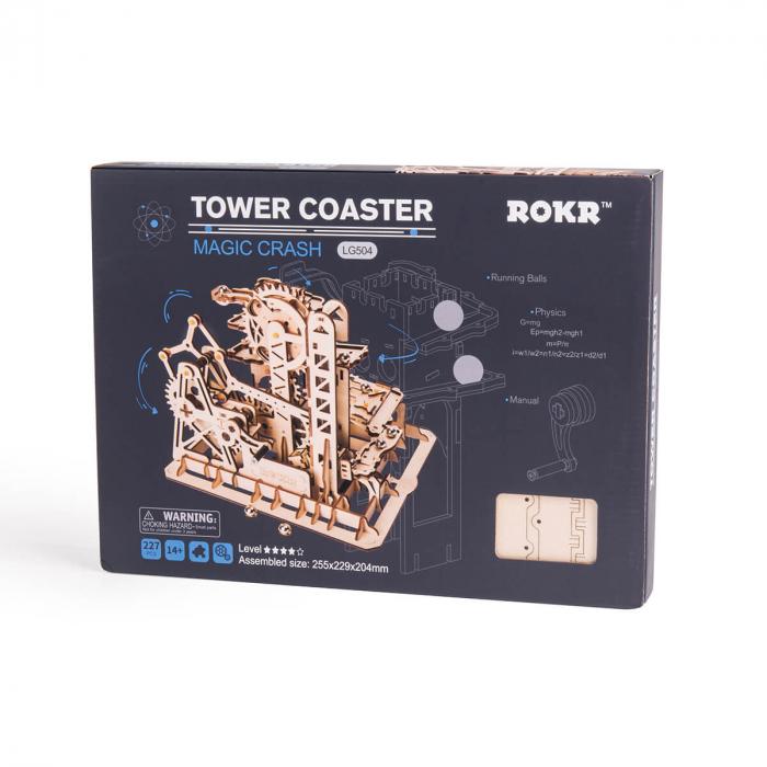 Puzzle 3D Marble Climber, Lemn, 227 piese 8