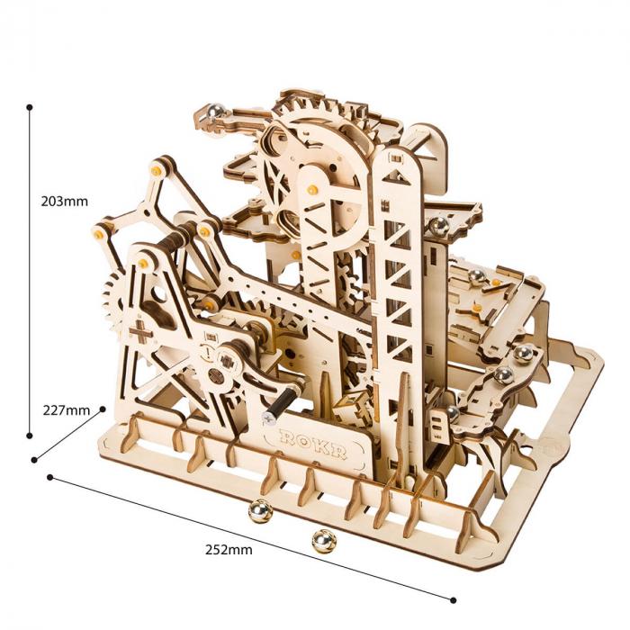 Puzzle 3D Marble Climber, Lemn, 227 piese 2
