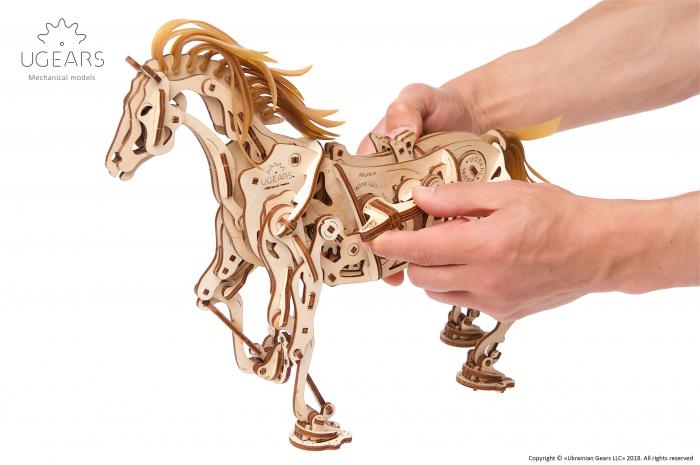 Puzzle 3D Mecanic, Cal Bionic, 410 piese [2]