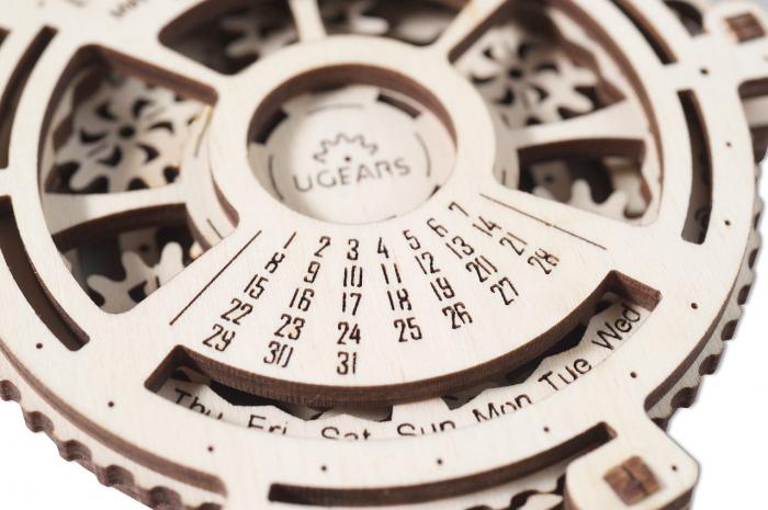 Puzzle 3D Mecanic, Calendar mecanic, 21 piese [4]