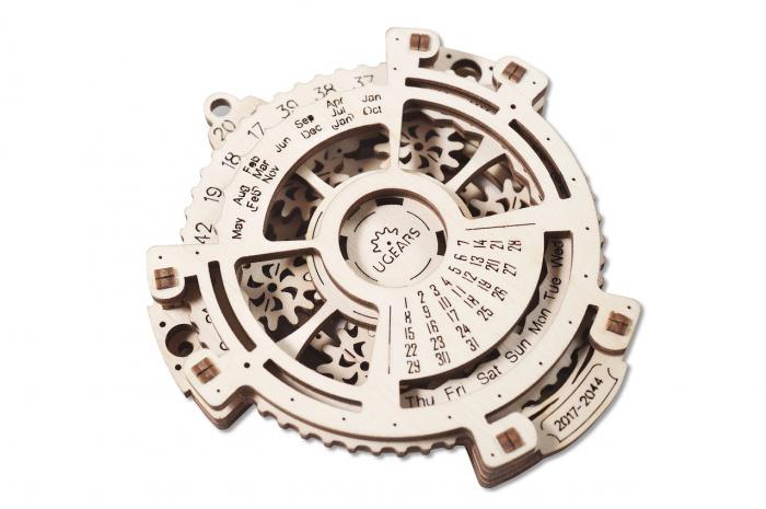 Puzzle 3D Mecanic, Calendar mecanic, 21 piese [2]