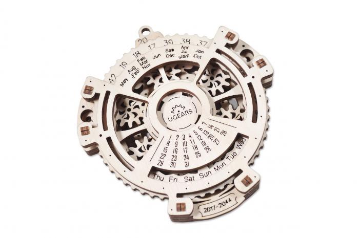 Puzzle 3D Mecanic, Calendar mecanic, 21 piese [3]