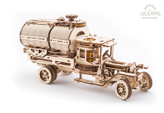 Puzzle 3D Mecanic, Camion UGM-11 Cisterna, 594 piese [2]