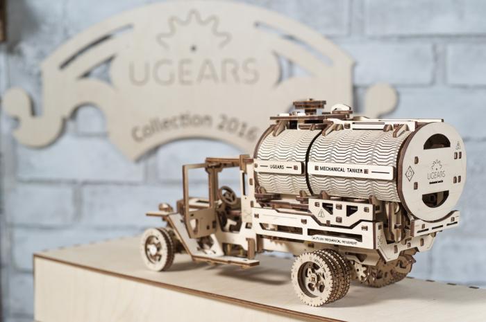 Puzzle 3D Mecanic, Camion UGM-11 Cisterna, 594 piese [7]