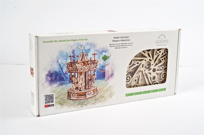 Puzzle 3D Mecanic, Carusel, 305 piese [6]