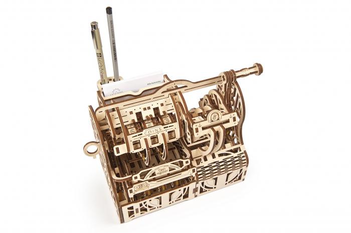 Puzzle 3D Mecanic, Casa de marcat, 405 piese [9]