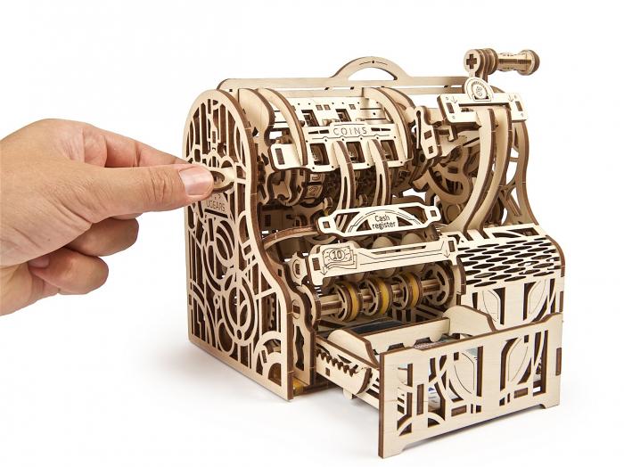 Puzzle 3D Mecanic, Casa de marcat, 405 piese [5]