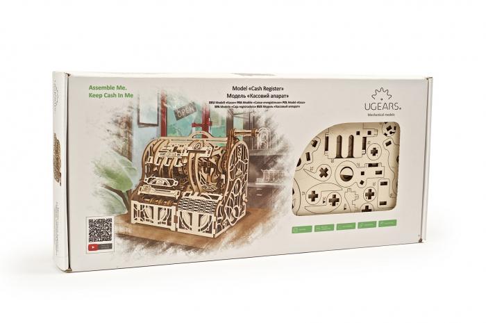 Puzzle 3D Mecanic, Casa de marcat, 405 piese [14]