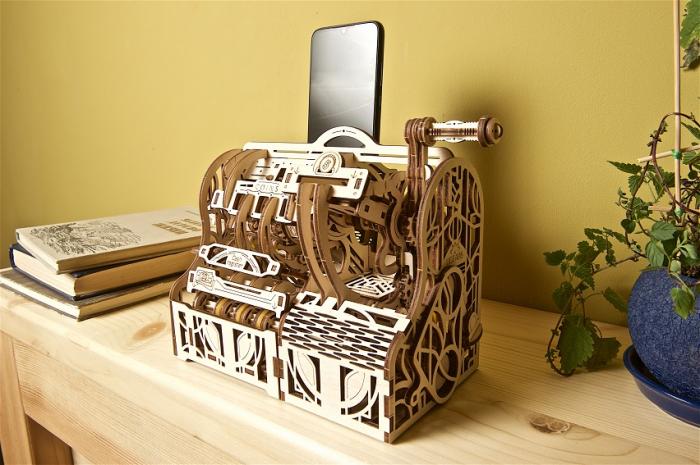 Puzzle 3D Mecanic, Casa de marcat, 405 piese [13]