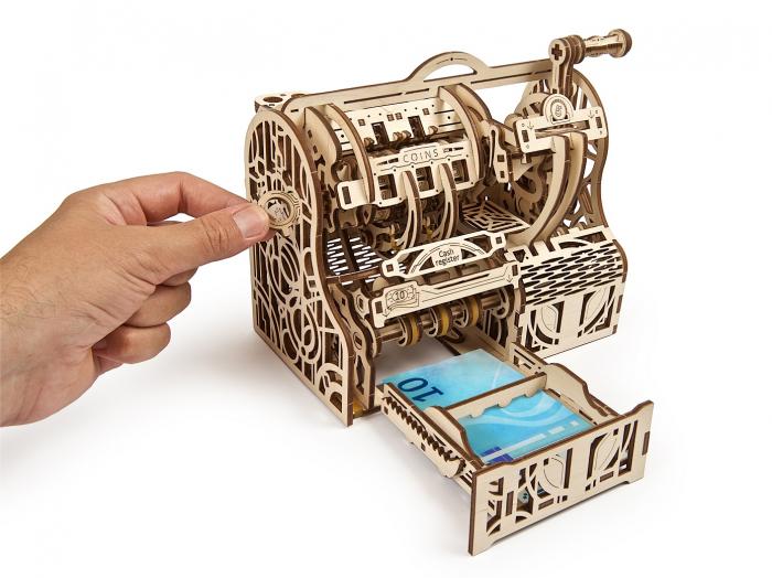 Puzzle 3D Mecanic, Casa de marcat, 405 piese [6]