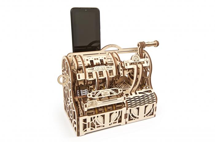 Puzzle 3D Mecanic, Casa de marcat, 405 piese [10]