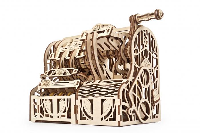 Puzzle 3D Mecanic, Casa de marcat, 405 piese [1]