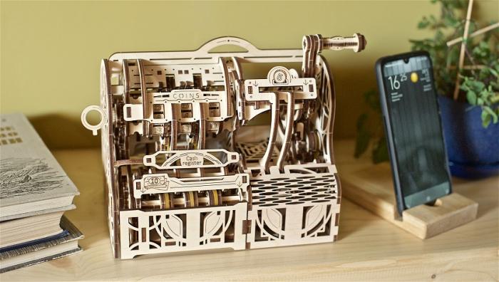 Puzzle 3D Mecanic, Casa de marcat, 405 piese [12]