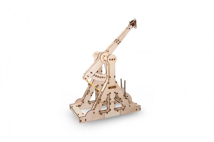 Puzzle 3D Mecanic, Catapulta Medievala [0]