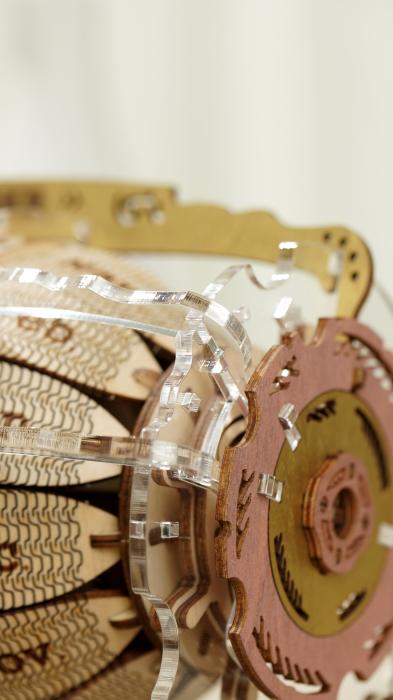 Puzzle 3D Mecanic , Ceas Calendar Masina Timpului, 250 piese 1