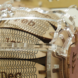 Puzzle 3D Mecanic , Ceas Calendar Masina Timpului, 250 piese 6