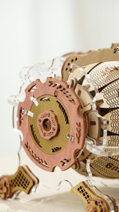 Puzzle 3D Mecanic , Ceas Calendar Masina Timpului, 250 piese 2