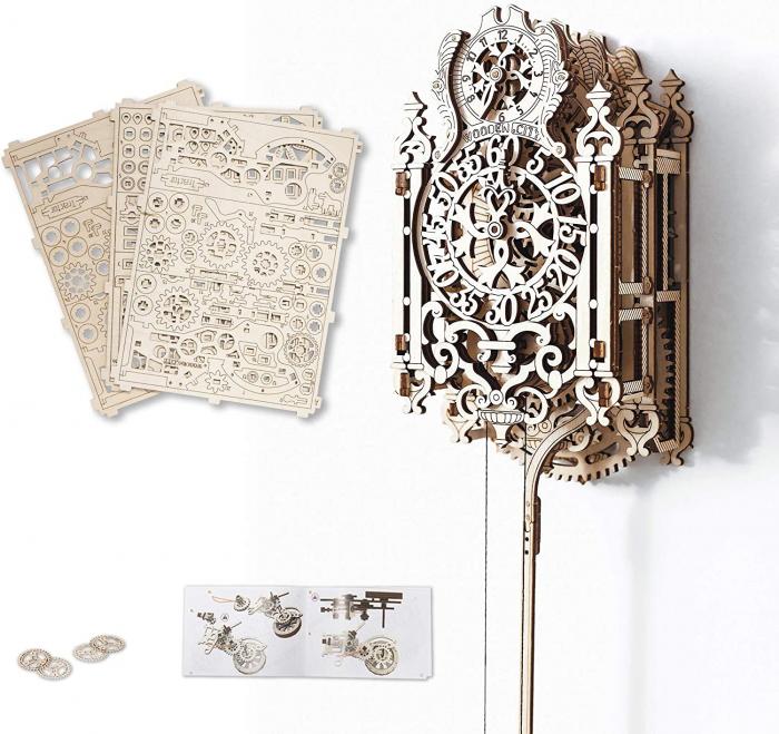 Puzzle 3D Mecanic, Ceas regal 0