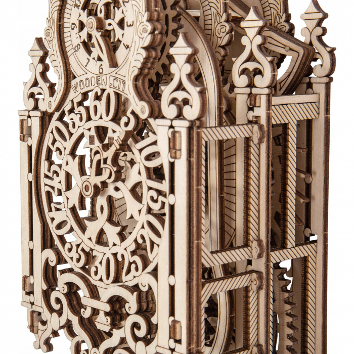 Puzzle 3D Mecanic, Ceas regal 1