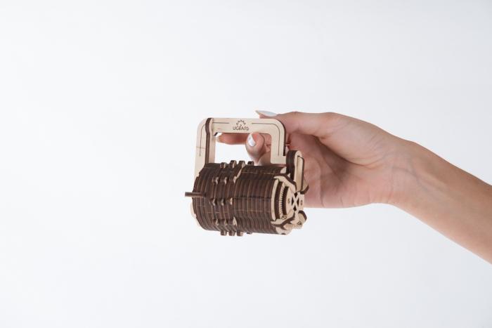 Puzzle 3D Mecanic, Codul lui da Vinci -  Cifru, 34 piese [4]