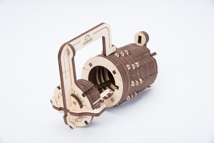 Puzzle 3D Mecanic, Codul lui da Vinci -  Cifru, 34 piese [1]