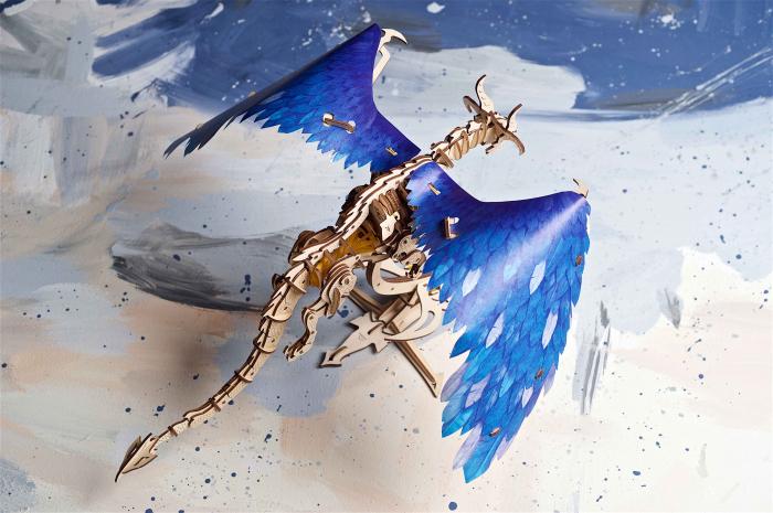 Puzzle 3D Mecanic, Dragonul Furtunii, 320 piese [5]